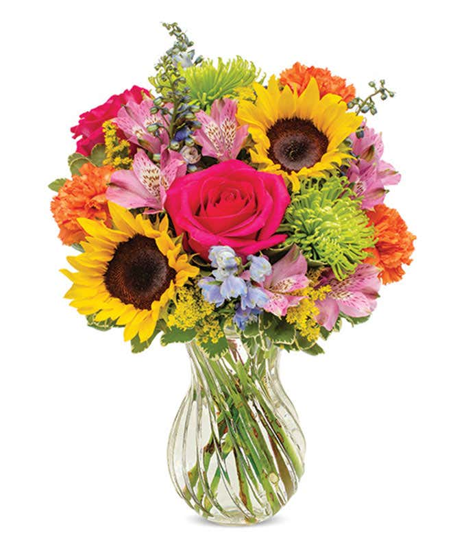 Sunflower Carnival Bouquet