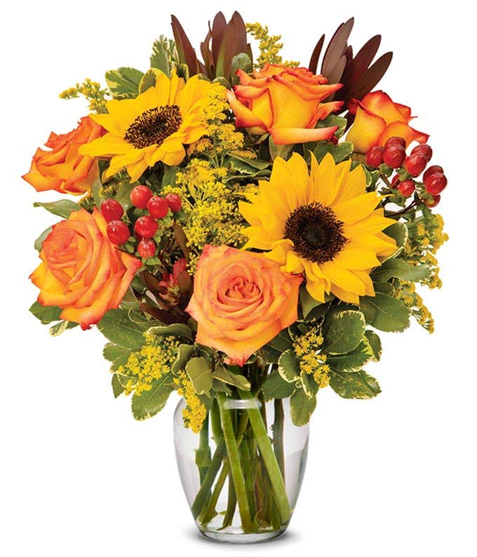 Fall in the Tropics Bouquet