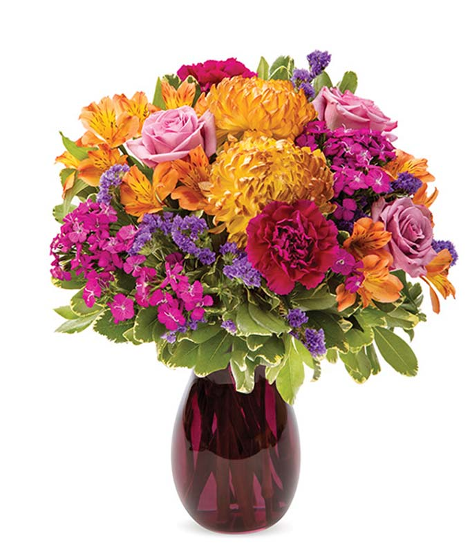 The Rainbow Fall Colors Bouquet