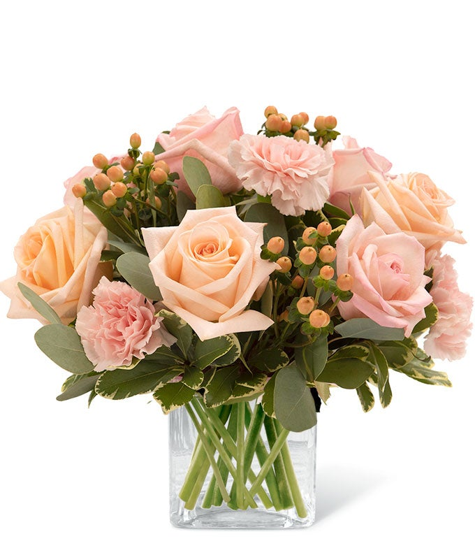 Sweet Peachy Cream Bouquet
