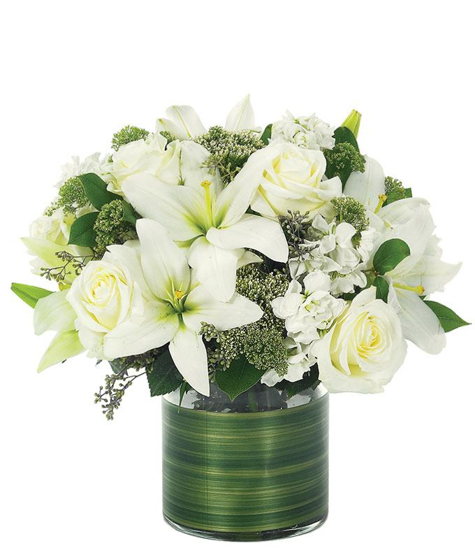 Lovely Rose & Lily Bouquet