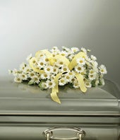 Yellow Daisy Casket...