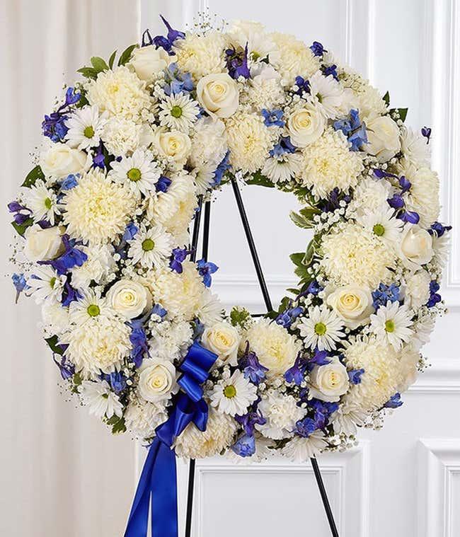 Serene Sympathy Wreath