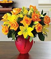 Citrus Roses & Lilies