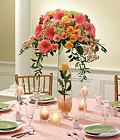 Sweetest Love Reception Centerpiece