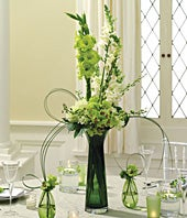 Forever Yours Reception Centerpiece