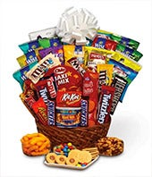 Sweets basket with chocolates cookies and candy ...  sc 1 st  FromYouFlowers & Same Day Delivery Gifts | FromYouFlowers