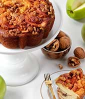 Old World Granny Smith Coffee Cake