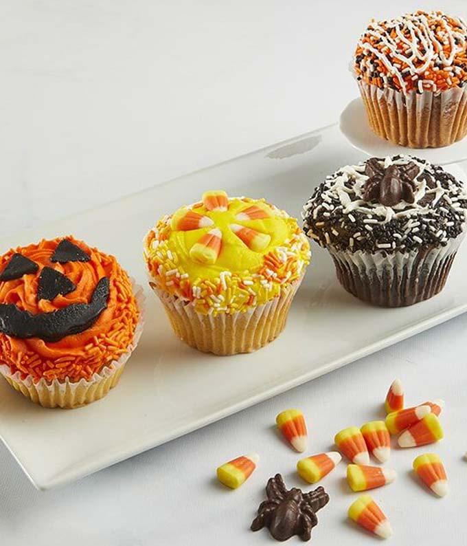 JUMBO Trick or Treat Cupcakes