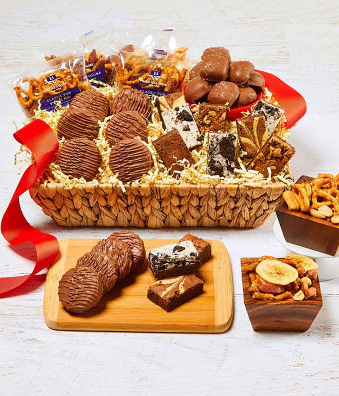 Sweet and Salty Delights Basket
