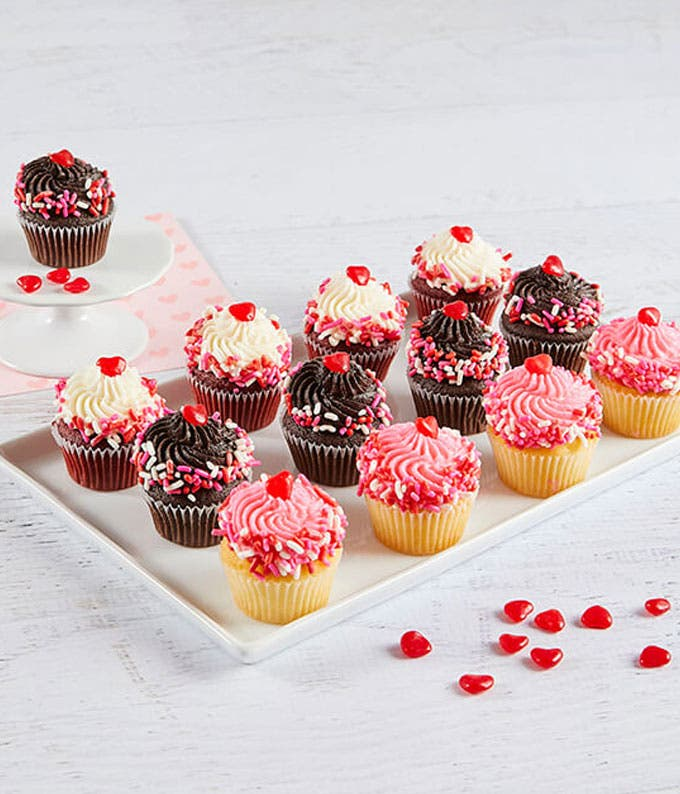 Valentine's Day Mini Cupcakes