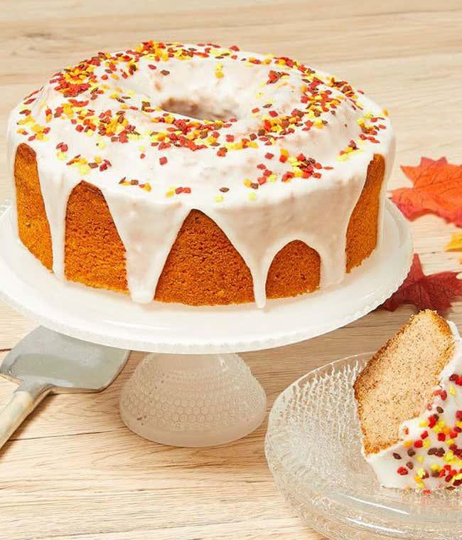Autumn Spiced Cake