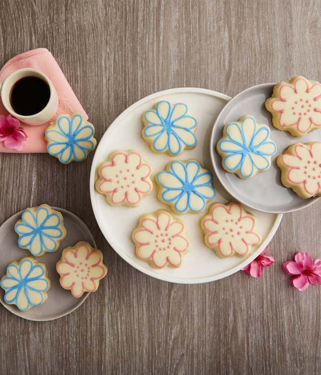 Fabulous Flower Cookies
