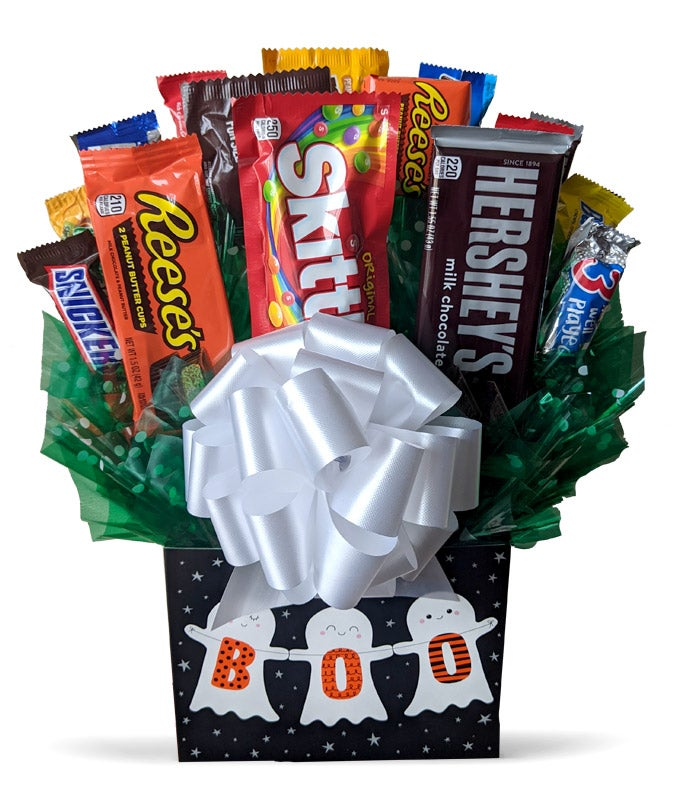 Happy Halloween Candy Bouquet
