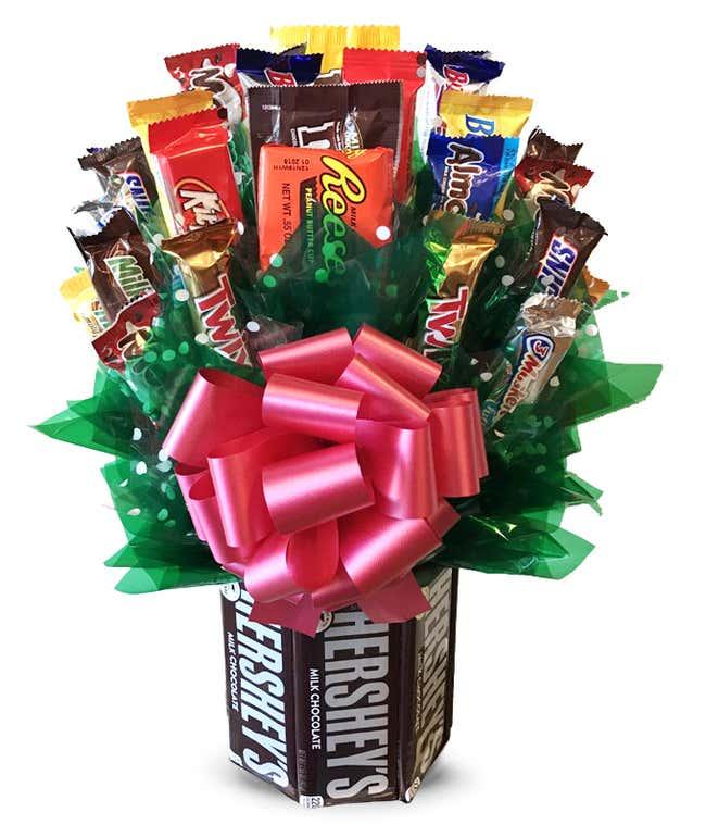 Large Candy Bar Bouquet