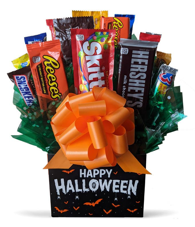 Halloween Candy Bar Basket