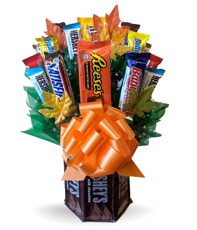 Hershey Halloween Candy Bouquet