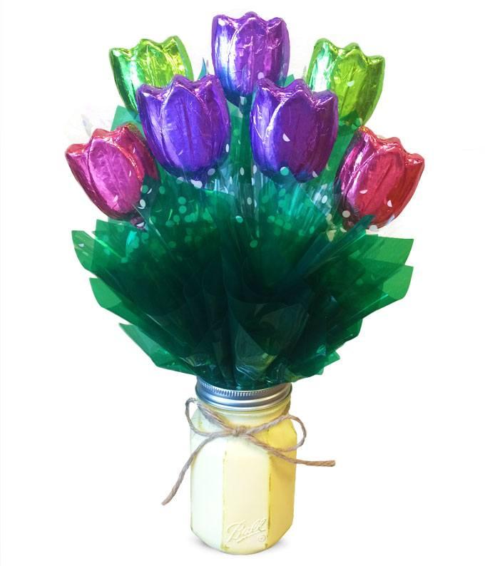 Tulip Temptation Chocolate Bouquet