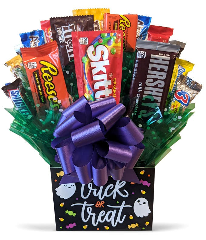 Trick or Treat Candy Bouquet