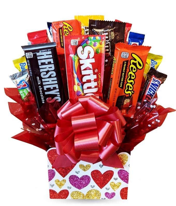 I Love You Candy Bouquet