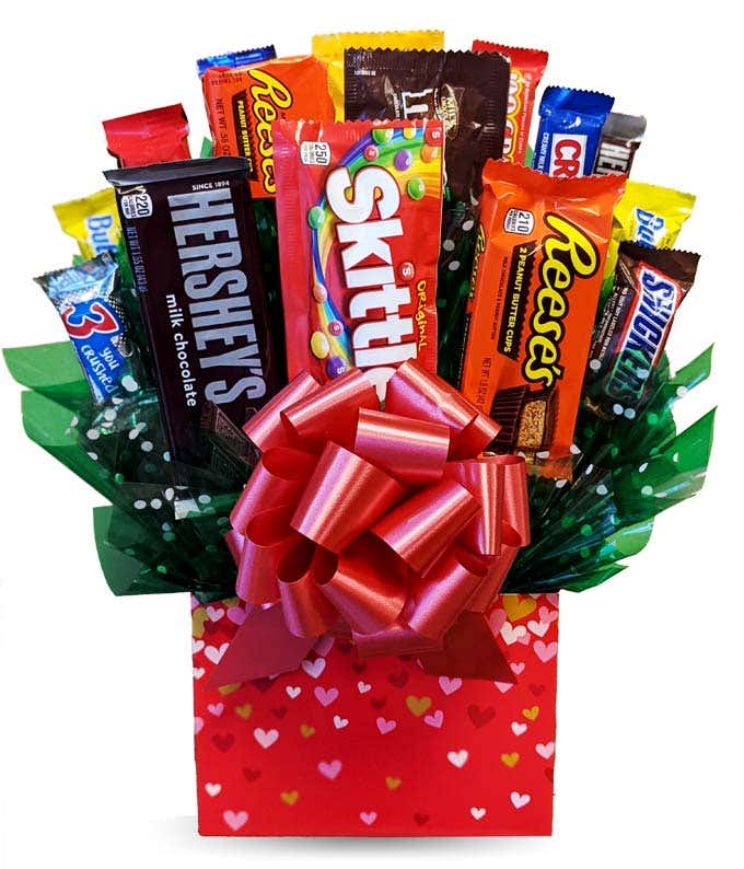 Sweets For My Sweetie Candy Bouquet