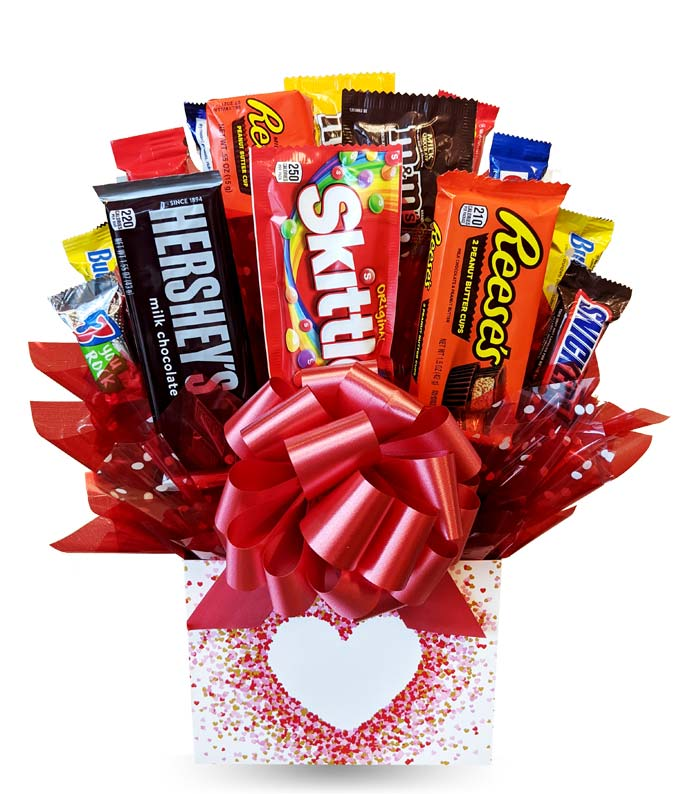 All My Heart Candy Bouquet