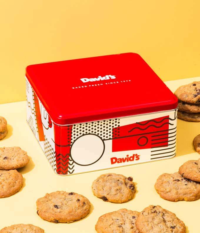 Oatmeal Raisin Cookies Tin - 2lb