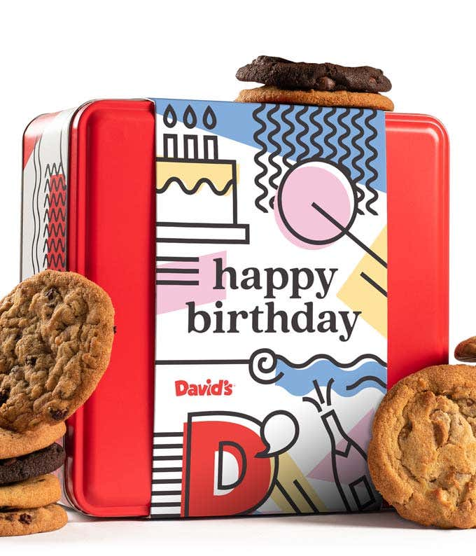 David's cookies for birthday