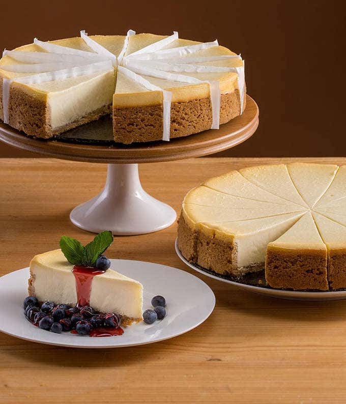 New York cheesecake delivered