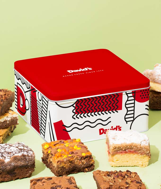 Brownie and Crumb Cake delivery