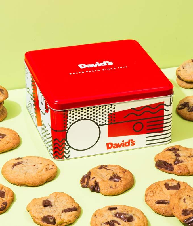 Fresh 2lb David's cookies basket