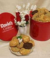 4lb Tin of Fresh Baked Cookies