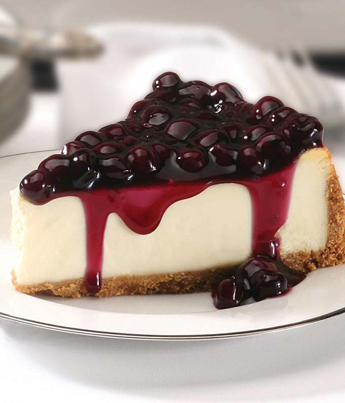 Blueberry Cheesecake delivered