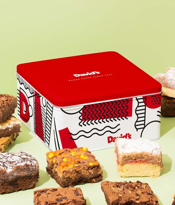 Assorted Brownie & Crumb Cake Sampler