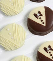 Bride & Groom Chocolate Covered OREO Cookies