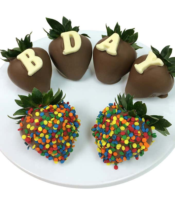 B-DAY Chocolate Covered Strawberries