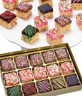 Belgian Chocolate Covered Crispy Bites