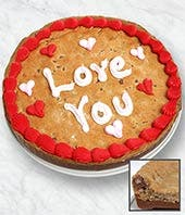 Love You Cookie Cake