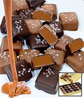 24 pc. Sea Salt Belgian Chocolate Caramels