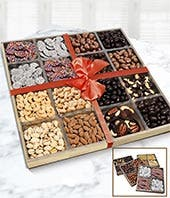 Grand Chocolate and Nut Tray