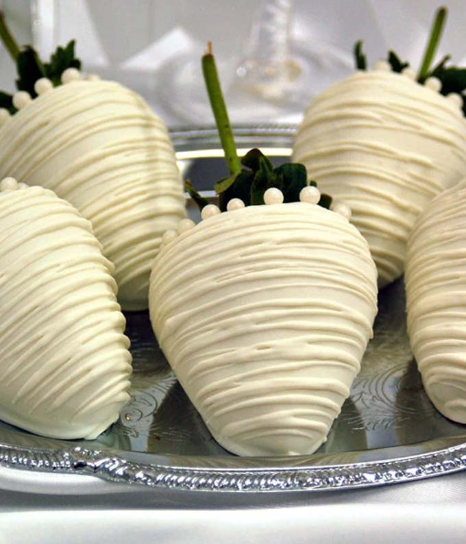 Bride Chocolate Covered Strawberries