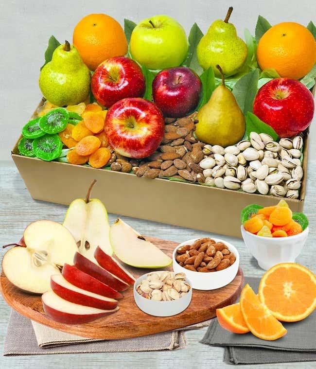 Deluxe Fruit & Snack Gift