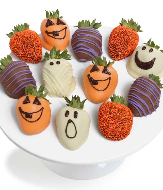 Dozen Halloween Chocolate Dipped Strawberries