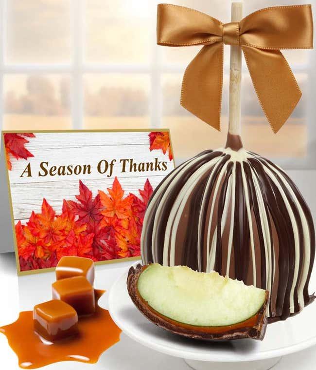 Chocolate Lover's Caramel Apple