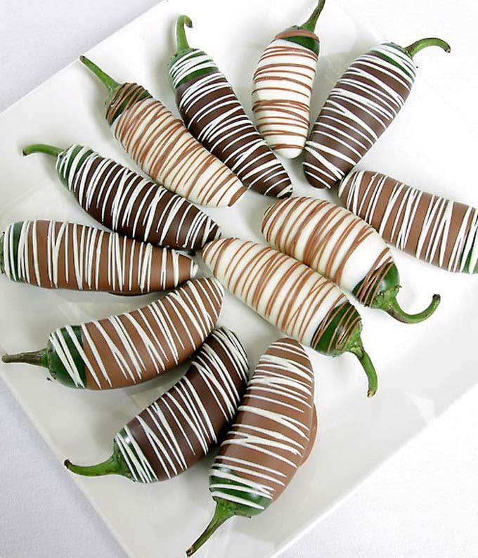 Belgian Chocolate Covered Jalepenos