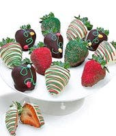 Light it Up Belgian Chocolate Covered Strawberries