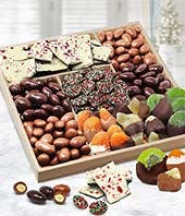 Awesome Chocolate Fruit and Nut Tray