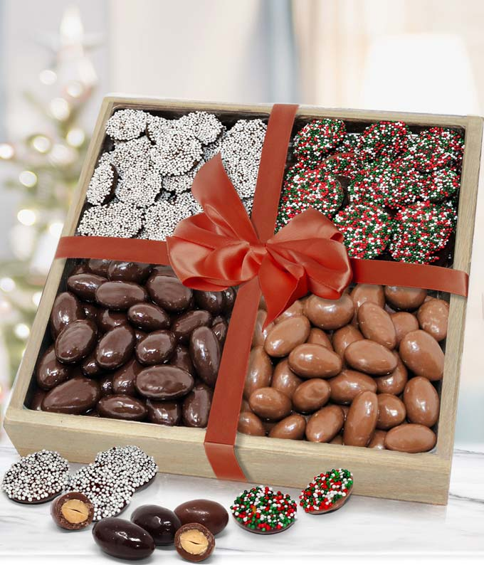 Holiday Chocolate Tray
