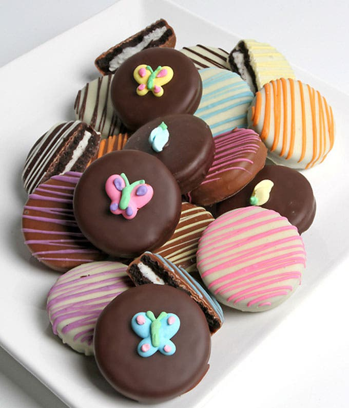 Spring Belgian Chocolate-Dipped OREO® Cookies - 12 Pieces