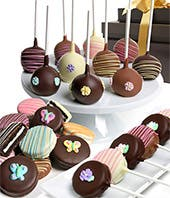 Delicious Basket of Chocolate Covered Treats